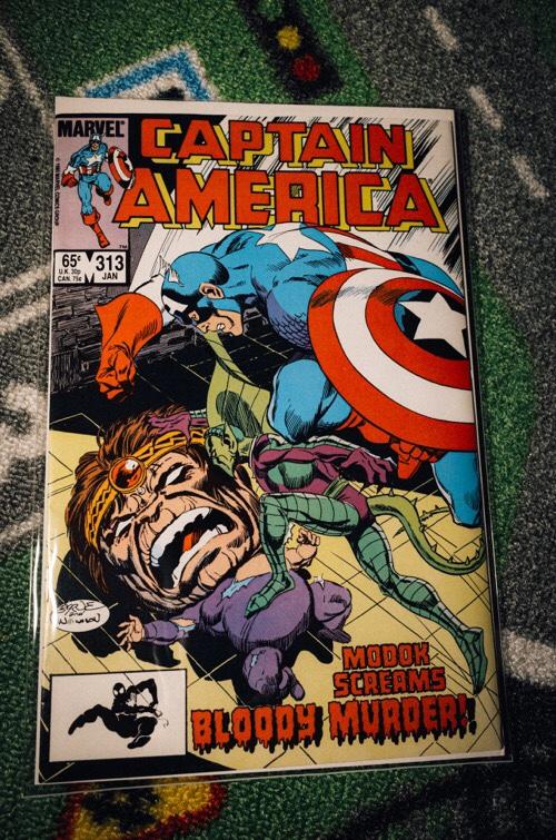 Captain America 313 1986