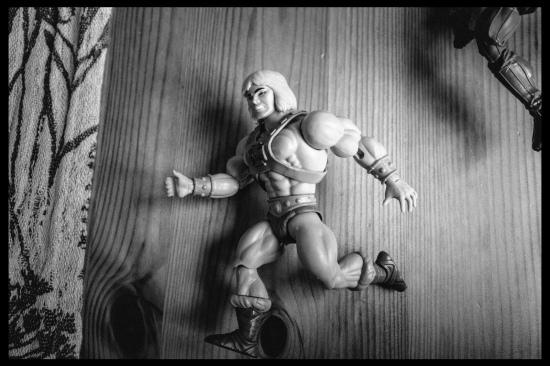 he-man running